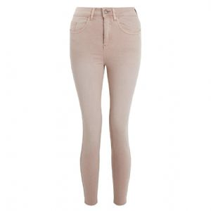 Ex New Look Ex Jenna Pale Pink Roll Up Skinny Jeans Trousers | FD&K